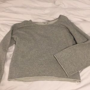American Eagle bell-sleeve pullover
